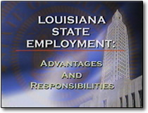 Video from the Louisiana Department of Civil Service