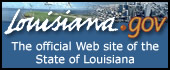 Louisiana.gov...the entry point to Louisiana state government information and services