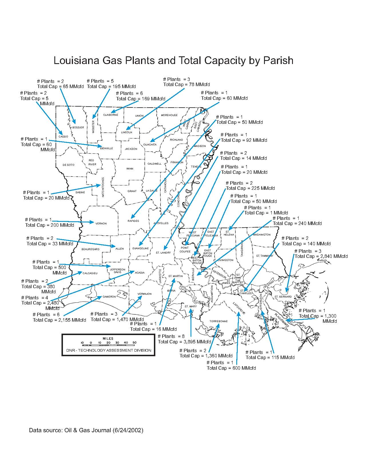 Department Of Natural Resources State Of Louisiana - Us-oil-refineries-map