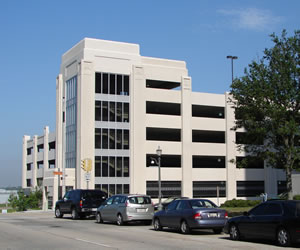 Welcome Center Parking Garage